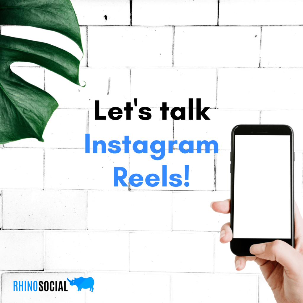 Lets talk Instagram Reels 1